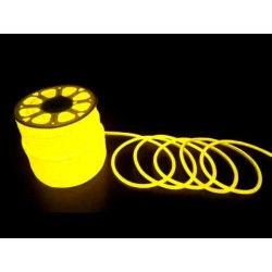 230V Neon Flex Gul D16 Neon Flex LED - 8W pr. meter, IP67, 230V