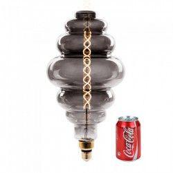 E27 LED V-Tac 8W LED kæmpe globepære - Kultråd, Ø20 cm, dæmpbar, ekstra varm hvid, 2000K, E27