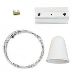 Skinnespots V-Tac wireophæng til skinner - Hvid, passer til V-Tac skinner, 3-faset