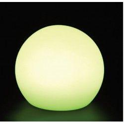 Havelamper V-Tac RGB LED kugle - Genopladelig, med fjernbetjening, Ø30 cm