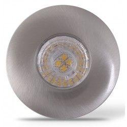 Køkken og skabe LEDlife Inno69 møbelspot - Hul: Ø5,5 cm, Mål: Ø6,9 cm, RA95, børstet stål, 6V