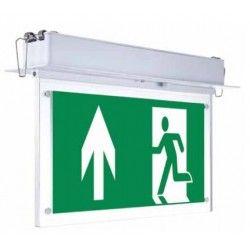 Exit skilte LED V-Tac loftmonteret/indbygget LED exit skilt - 2W, Samsung LED chip