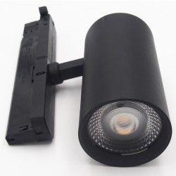 Skinnespots LEDlife sort skinnespot 28W - Flicker free, Citizen LED, RA90, 3-faset