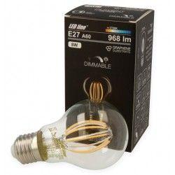 E27 LED 8W LED Pære - Kultråd LED, E27, A60D