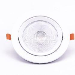 LED Paneler V-Tac 20W LED spotlight - Hul: Ø14,5 cm, Mål: Ø17 cm, 3 cm høj, Samsung LED chip, 230V
