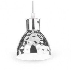 LED pendel V-Tac kobber pendellampe - Krom farve, Ø15 cm, E27