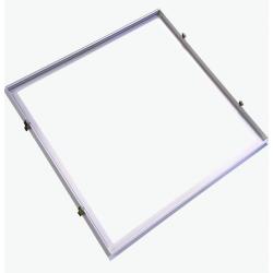 LED Paneler Indbygningsramme til 60x60 LED panel - Velegnet til Troldtekt og gips