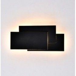 Væglamper V-Tac 12W LED sort væglampe - IP20 indendørs, 230V, inkl. lyskilde