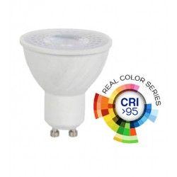 LED pærer og spots V-Tac 6W LED spot - RA 95, 230V, GU10