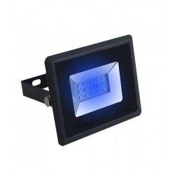 Projektør V-Tac 10W LED projektør - Arbejdslampe, blå, udendørs