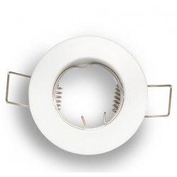 Indendørs indbygningsspots Downlight kit uden lyskilde - Hul: Ø5 cm, Mål: Ø6 cm, mat hvid, vælg MR11 eller mini GU10