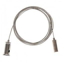 LED lysstofrør Wire ophæng til armatur - 1,5 meter, justerbar højde, sæt med 2 stk.
