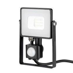 Projektører med sensor V-Tac 10W LED projektør med sensor - SMD, Samsung LED chip